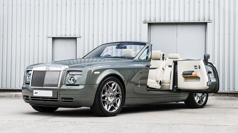 """Rolls Royce Ghost 2010-On 4x 22"""" Kahn 6-Split Alloy Wheels ..."""